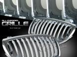 Решётка радиатора для  BMW 04-07 Хром