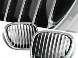 Решётка радиатора на BMW 96-02 Чёрный хром