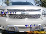Решётка в бампер на Chevrolet Suburban 07-08