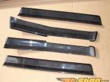 NRG Innovations Чёрный Карбоновый Двери Steps BMW 3-Series E92 06-11