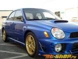 APR Performance Formula 3 Чёрный Карбоновый Зеркала Subaru WRX 08-13