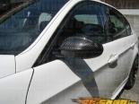 Карбоновые накладки на зеркала Amebastyling для BMW E90 05+