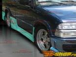 Пороги на Chevorlet S-10 1994-2004 Drift