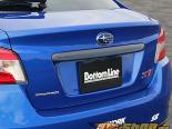 Chargespeed Карбон задний Finisher Subaru WRX STI 2015