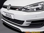 Caractere Performance передний  Спойлер Volkswagen Golf MK7 2014