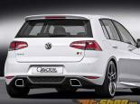 Caractere Performance задний Спойлер with выхлоп Volkswagen Golf MK7 2014