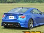 C-West задний Lip Спойлер ABS Painted Subaru BRZ 13-14