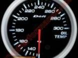 """Defi-Link BF Imperial 2 3/8"""" (60mm) температуры масла Датчик Белый [DF04603]"""