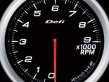 Defi Advance BF Датчик 60MM тахометр 9000RPM Белый [DF10701]