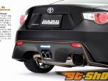 DAMD нержавеющий Dual Tip Muffler Toyota GT-86 | Scion FR-S 13-14