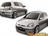 DAMD задняя Garnish | задняя Light Cover 01 Toyota Vitz XP10 (JDM) 99-05
