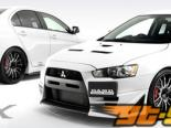DAMD крылья Duct 02 - Карбон - Mitsubishi Evolution X 08-14