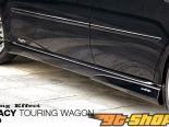 DAMD Пороги 02 - Карбон - Subaru Legacy Touring Wagon 05-09