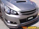 DAMD передний  решетка 01 Type B - Карбон - Subaru Legacy Touring Wagon 10-13