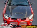 Карбоновый капот для Dodge Neon 2000-2005 SRT Стиль