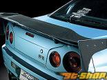 Do-Luck задний Wing Type-2 (для Nomal Wing Stay) Карбон Nissan Skyline R34 99-02