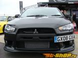 Do-Luck Передняя губа 01 - Карбон - Mitsubishi Evolution X 08-14