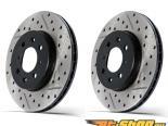StopTech SportStop Drilled & тормозные диски задний пара Audi S4 04-08