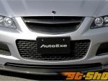 AutoExe Передняя губа 03 - Карбон - Mazda 6 03-08