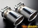 AutoExe насадка на выхлоп 01 - Хром | Overlay - Mazda 6 12-13