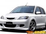 AutoExe Пороги 01 Mazda 2 03-07