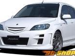 AutoExe Пороги 02 Mazda 2 03-07
