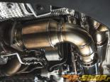 Agency Power High Flow Cat Race Pipes Porsche 991 Turbo 2014+