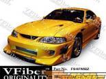 Передний бампер для Ford Mustang 94-98 Blits VFiber