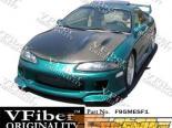 Передний бампер для Mitsubishi Eclipse 95-96 SF1 VFiber