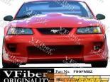 Передний бампер для Ford Mustang 99-04 Blits VFiber