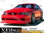 Передний бампер для Ford Mustang 99-04 CobraR VFiber