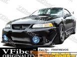 Передний бампер для Ford Mustang 99-04 EVO5 VFiber