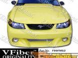 Передний бампер для Ford Mustang 99-04 Type-S2 VFiber