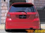 FABULOUS Half Карбон задний Garnish Карбоновый Honda Fit GD1-4 02-05