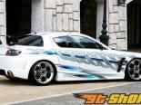 FABULOUS задний Wing | задний Спойлер Mazda RX-8 04-08