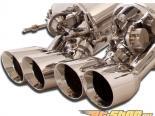 B&B выхлоп C6 Gen 3 Fusion выхлоп System with 4nch Quad Round Tips Chevrolet Corvette ZR1 09-13