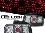 Задняя оптика для Ford Mustang 05-07 Чёрный