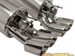 B&B Fusion выхлоп with 4inch Round Quad Double Wall Tips and Control комплект Cadillac XLR-V 04-09
