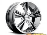 FOOSE Knuckle Buster F151 Powder Хром Диски 20x10 5x114.3 +45mm