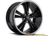FOOSE Knuckle Buster F152 Gloss Чёрный & Milled Диски 20x10 5x114.3 +45mm