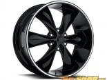 FOOSE Legend 6 F138 Gloss Чёрный with Lip Groove Диски 20x9 6x135 +25mm