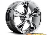 FOOSE Legend F103 Powder Хром Диски 17x8 5x120.65 +1mm