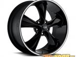 FOOSE Legend F104 Gloss Чёрный with Milled Lip Groove Диски 18x8 5x114.3 +1mm