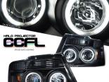 Передняя оптика на Ford F150 04-08 HALO PROJECTOR CCFL  Чёрный