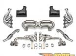 Fabspeed Supersport Performance Package without ECU | Черные насадки | Valved Ferrari 430 05-09