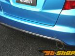 Garage Vary задний Under|диффузор 01 - Карбон - Honda Fit GE6-9 09-13
