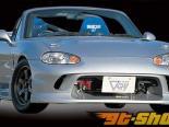 Garage Vary передний  бампер 04 Mazda Miata 99-05