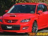 Garage Vary Передняя губа 04 - Карбон - Mazda 3 04-09