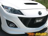 Garage Vary передний  бампер Cover 01 FRP Mazda 3 10-13
