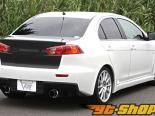Garage Vary багажник 01 - Карбон - Mitsubishi Evolution X 08-13